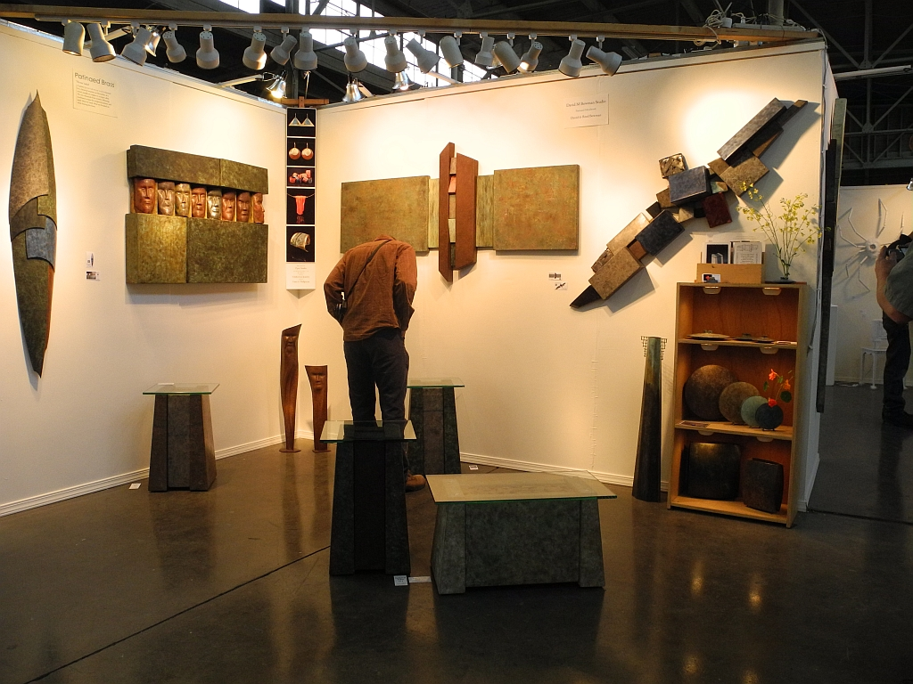 Art + Industry Show at American Steel Galleries - May 2013